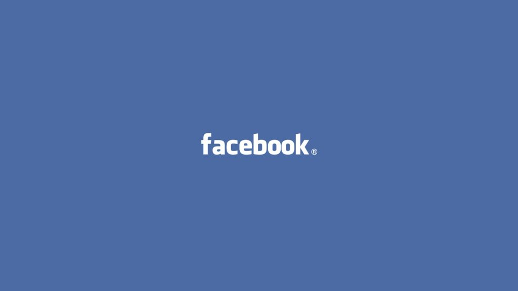 facebook logo wallpaper