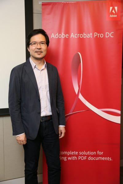 馮啟源-Adobe-香港及台灣區總經理。