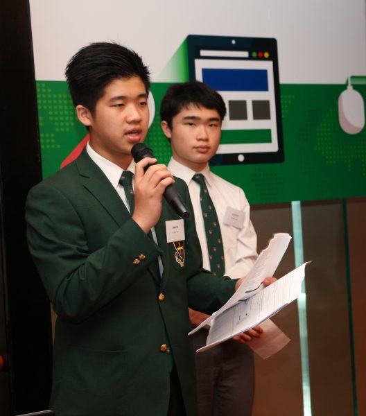 華仁書院(九龍)同學分享道,以這些軟件學習地理科,可以更易掌握課題,不用如以往般憑空想像。 照片:Esri中國(香港)