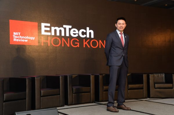 應科院信息安全與數據科學研發部總監王世松博士宣布為本港製訂區塊鏈科技白皮書。