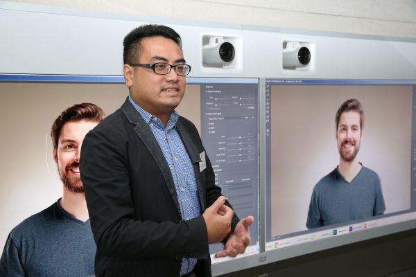 黃耀興先生介紹 Adobe Creative Cloud 的更新。
