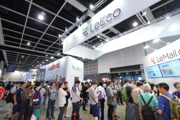 LeEco 樂視首辦「香港樂迷節」,場館人頭湧湧。