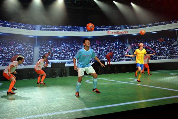 圖六:LeSports HK開台典禮上的精彩表演(二)。