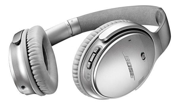 QuietComfort® 35無線耳罩式耳機 (銀色)