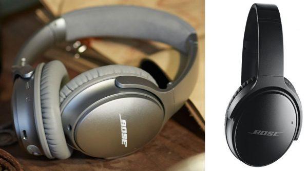 QuietComfort® 35無線耳罩式耳機,耳機右邊耳罩,設有簡便的按鈕,以供開/關耳機、調節音量、播放/暫停音樂以及接聽/結束通話。