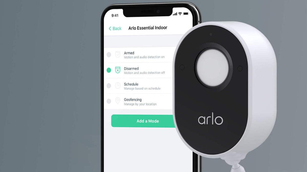 Arlo Essential 室內錄影鏡頭加入私隱保護盾-0